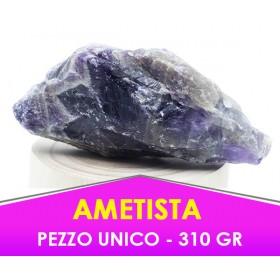 AMETISTA - 310 gr - Pietra caricata con procedimento speciale -  PEZZO UNICO