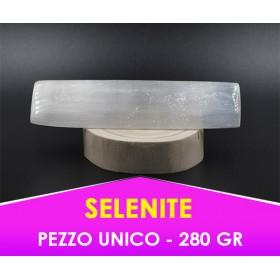 SELENITE PURA - PIETRA DI CONNESSIONE CON TRATTAMENTO SPECIALE