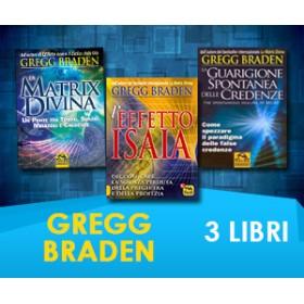 Gregg Braden - 3 Libri (Spedizione Inclusa)