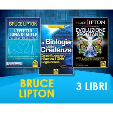 Bruce Lipton - 3 LIBRI (Spedizione Inclusa)