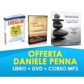 """""""SVEGLIA""""+ DVD """"CHIEDI E TI SARA' DATO...FORSE"""" + CORSO """"BALANCE"""" (SPEDIZIONE COMPRESA) - Daniele Penna"""