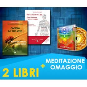 Claudia Rainville - 2 LIBRI + MEDITAZIONE IN OMAGGIO (Spedizione Inclusa)