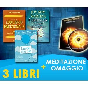 Roy & Joy Martina - 3 LIBRI + MEDITAZIONE IN OMAGGIO (Spedizione Inclusa)
