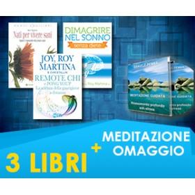 SALUTE E BENESSERE - Roy & Joy Martina - 3 LIBRI + MEDITAZIONE IN OMAGGIO (Spedizione inclusa)