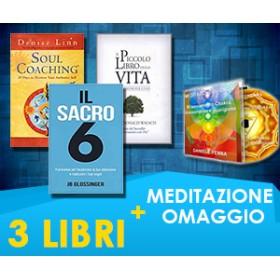 Donald Walsh, JB Glossinger, Denise Linn - 3 LIBRI + Meditazione in omaggio (Spedizione Inclusa)