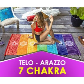 7 Chakra - Telo, Tappeto, Copriletto, Arazzo (Spedizione Gratuita)