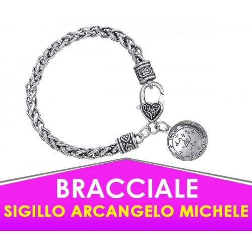 """Bracciale Sigillo Arcangelo Michele - Con """"Potenziamento"""" Speciale"""