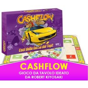 Cashflow - Esci dalla Corsa dei Topi - Gioco da Tavolo ideato da Robert Kiyosaki