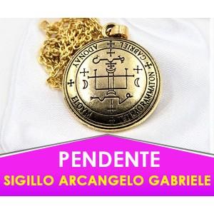 "Pendente Sigillo Arcangelo Gabriele - Con ""Potenziamento"" Speciale"