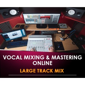 VOCALS MIXING & MASTERING ONLINE - LARGE TRACK MIX (In Offerta Lancio a 117 € anzichè 320 €)