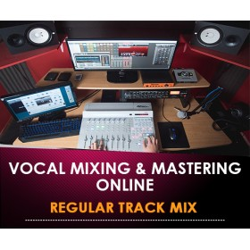 VOCALS MIXING & MASTERING ONLINE - REGULAR TRACK MIX (In Offerta Lancio a 97 € anzichè 297)