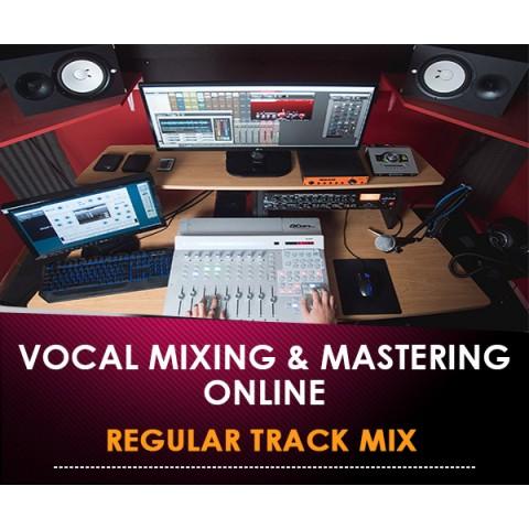 VOCALS MIXING & MASTERING ONLINE - REGULAR TRACK MIX (In Offerta Lancio a 97 € anzichè 297)