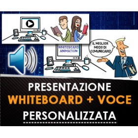 VIDEO ANIMATO WHITEBOARD + VOCE