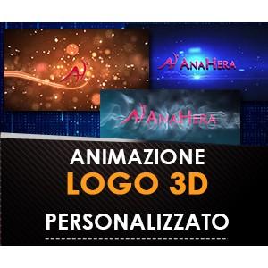 Video con il Tuo Logo Animato 3D Personalizzato