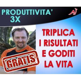 PRODUTTIVITA' 3X - Triplica i risultati e goditi la vita - Max Formisano