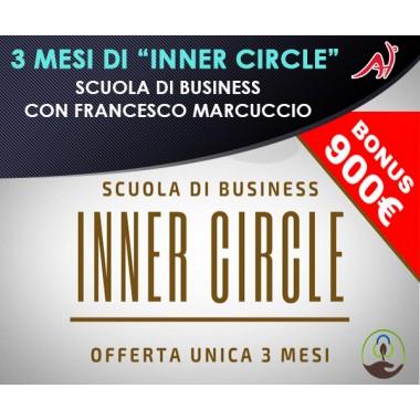 """3 mesi di """"Inner Circle"""" - Scuola di Business con Francesco Marcuccio"""